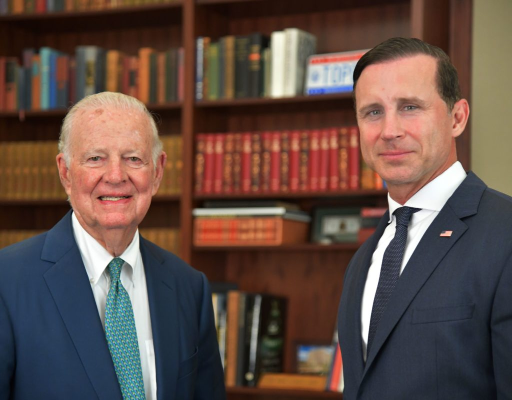 James A. Baker, III and Charles Denyer